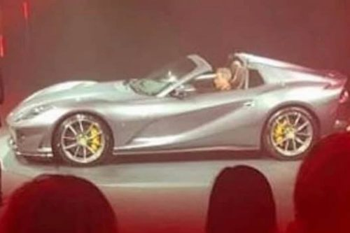 Ferrari 812 Superfast Spider leaked