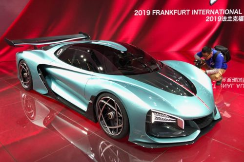 FRANKFURT MOTOR SHOW: Hongqi S9 supercar raises eyebrows