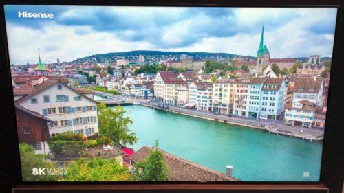 Hands on: Hisense HZ85U9E 8K LCD TV review