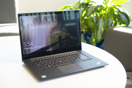 Lenovo ThinkPad X1 Extreme vs. MacBook Pro 15