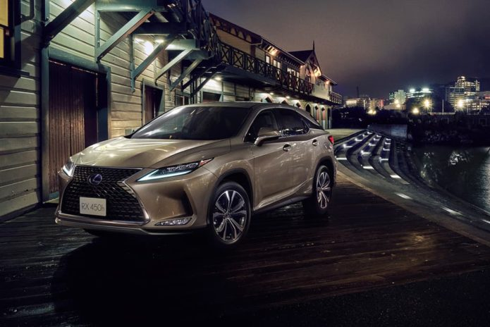 2020 Lexus RX pricing revealed