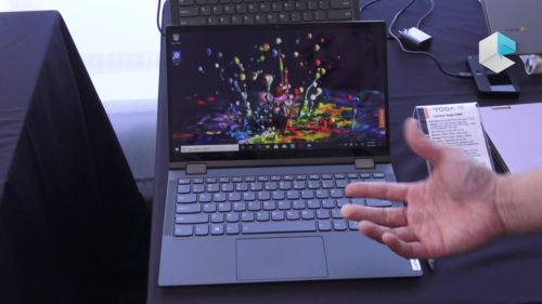 Lenovo Yoga C640 hand-on review: All about 4G connectivity