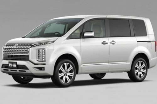 New-look Mitsubishi Delica under study for Oz