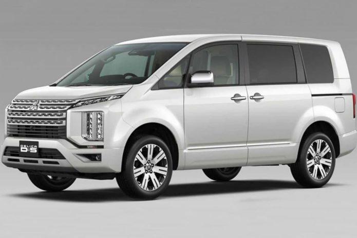 New-look Mitsubishi Delica under study for Oz