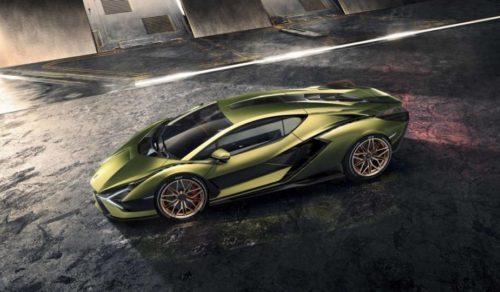 Lamborghini Sián Is an 819-hp Hybrid Supercar For 2020