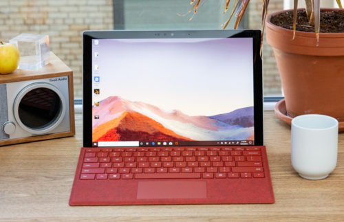 Microsoft Surface Pro 7 vs. Dell XPS 13