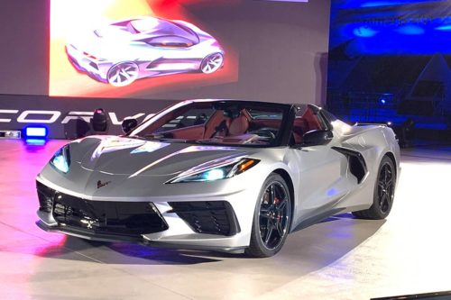 2020 Chevrolet Corvette Convertible: First Look