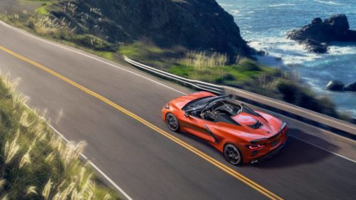 The 2020 Chevy Corvette hardtop convertible is a first