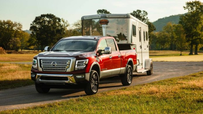 2020 Nissan Titan XD adds power and tech but cuts cab decisions