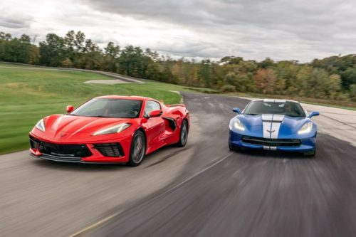Racetrack Throwdown: 2020 Chevy Corvette C8 vs. 2019 Corvette C7
