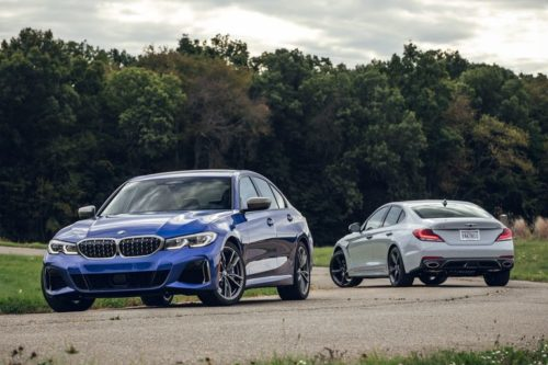 2020 BMW 3-series vs. 2020 Genesis G70: Which Is the Better Compact Luxury Sports Sedan?
