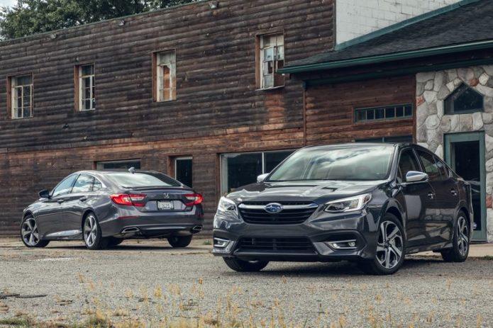2020 Subaru Legacy vs. 2019 Honda Accord: Does the New Legacy Challenge America's Best Family Sedan?