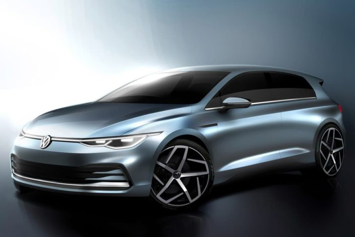 New drawing previews 2020 Volkswagen Golf