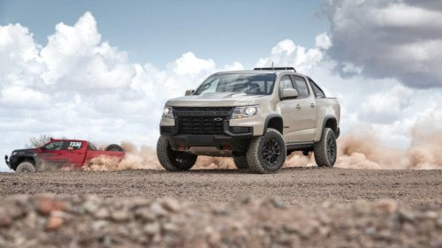 The 2021 Chevrolet Colorado ZR2 can't be accused of being bland