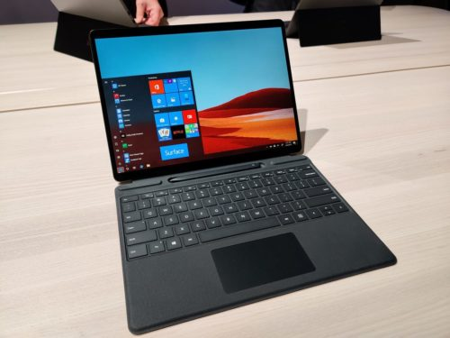Microsoft's next-generation, slim-bezel Surface Pro X is now available