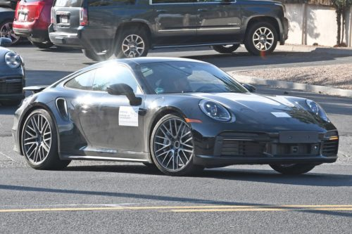 SPY PICS: Next 2020 Porsche 911 Turbo S blows its cover