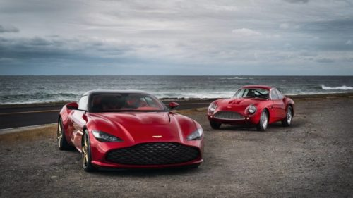 The Aston Martin DBS GT Zagato's striking looks rely on bleeding-edge tech