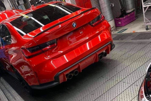 This Is Our First Real Glimpse of the All-New BMW M3