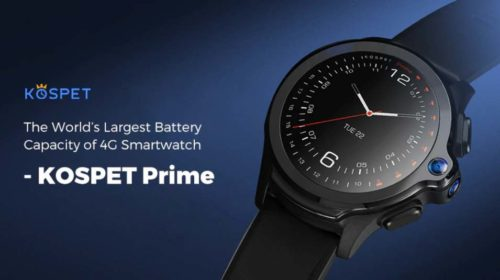 KOSPET PRIME: The First Smartwatch in The World with Face ID with Biggest Battery