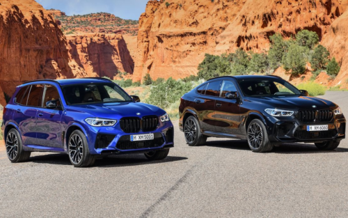 2020 BMW X5 M and X6 M Are SUVs with the Heart of an M5