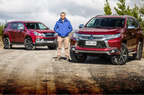 2019 Mitsubishi Pajero Sport Exceed v Isuzu MU-X LS-U 4×4 comparison: Two big red wagons, one winner