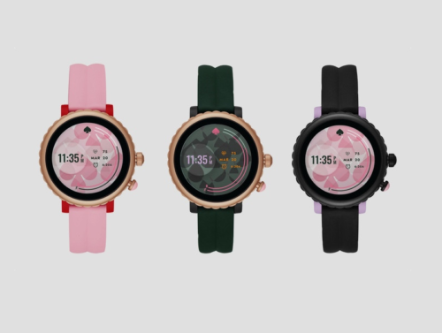 Kate Spade unveils a sporty smartwatch running Wear OS