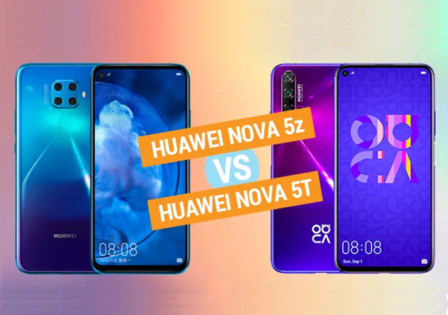 Huawei Nova 5z vs Nova 5T: What's Different?
