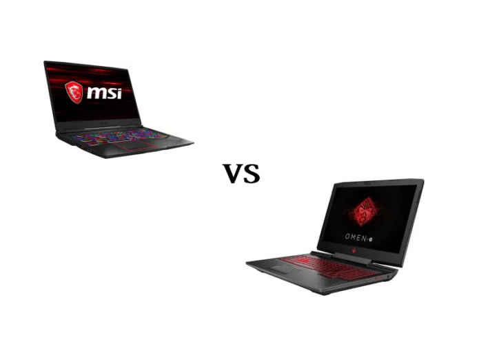 MSI GE75 vs HP Omen 17 2019 – into the heart of the battle