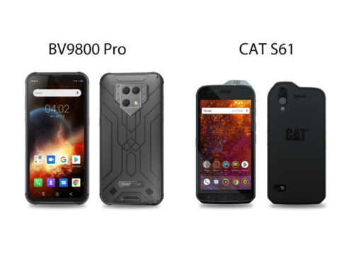 Blackview BV9800 Pro vs. CAT S61: Which FLIR Lepton Thermal Rugged Smartphone is Better?