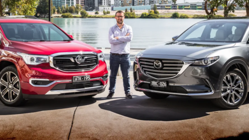 2019 Mazda CX-9 Azami v Holden Acadia LTZ-V comparison: 7-seat showdown