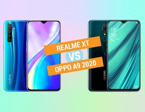 Realme XT vs OPPO A9 2020 Specs Comparison