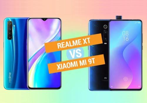 Realme XT vs Xiaomi Mi 9T Specs Comparison