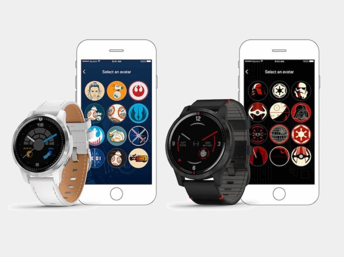 Garmin unveils its new Star Wars-inspired smartwatch series