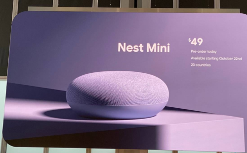 Google Nest Mini gets louder and gains onboard Assistant processing