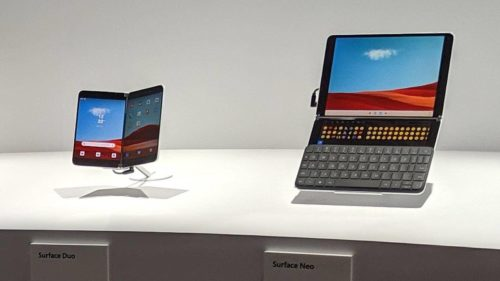 Surface Neo vs. Surface Duo: Microsoft's dual-screen devices, compared