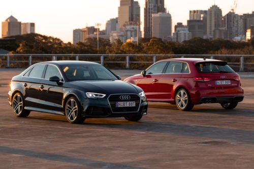 Sporty Audi A3 S line plus edition lands
