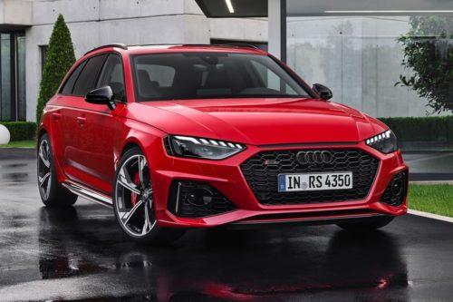 2020 Audi RS 4 Avant revealed