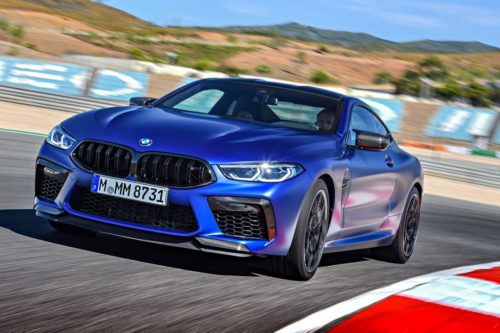 BMW M8 Competition Coupe priced