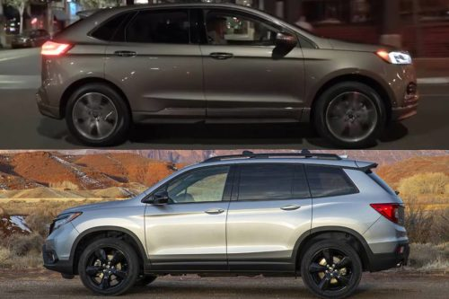 2019 ford Edge vs. 2019 Honda Passport: Which Is Better?