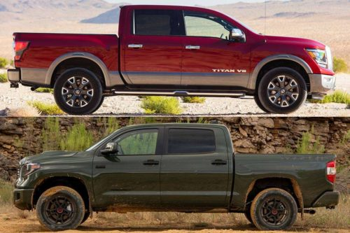 2020 Nissan Titan vs. 2020 Toyota Tundra: Which Is Better?