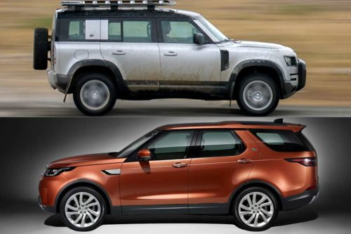 2020 Land Rover Defender vs. 2020 Land Rover Discovery: What's the Difference?