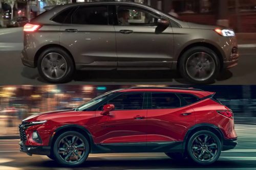 2019 Ford Edge vs. 2019 Chevrolet Blazer: Which Is Better?
