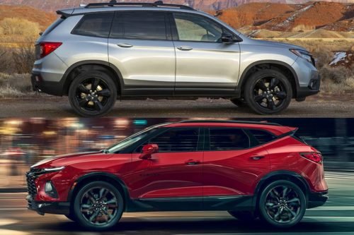 2019 Honda Passport vs. 2019 Chevrolet Blazer: Which Is Better?