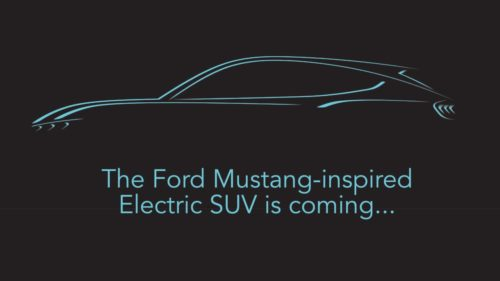 Ford's Mustang-inspired electric SUV gets a reveal date