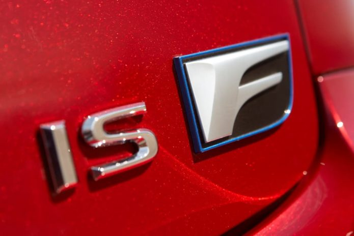 No plans for new Lexus IS F
