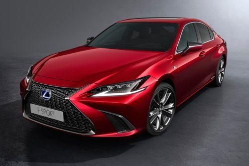 F Sport joins Lexus ES 300h range