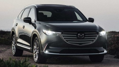 2020 Mazda CX-9 gains new second-row captain chair