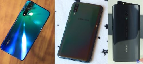 Camera Battle: Huawei Nova 5T vs Samsung Galaxy A70 vs OPPO Reno