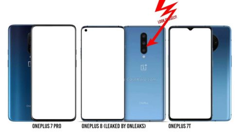 OnePlus 8 leaked with curved display, punch-hole camera
