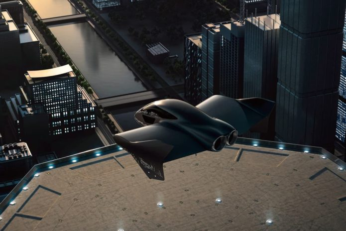 Porsche enters flying car race – with Boeing
